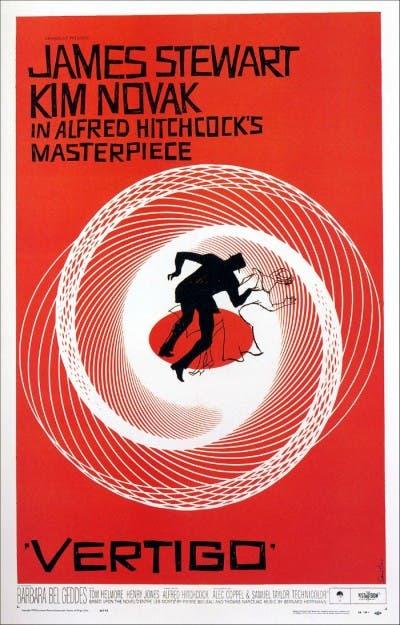 Poster de la película Vértigo (de entre los muertos)
