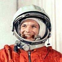 Fotografía del cosmonauta Yuri Gagarin
