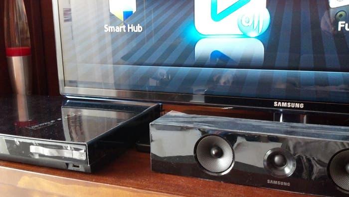 Probamos el Blu-ray 3D HT E-5500 de Samsung