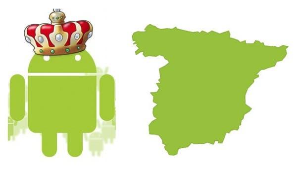 Android Domina el mercado español