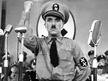 Escena de El gran dictador