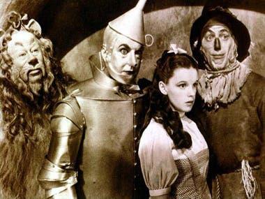 Escena película El mago de Oz
