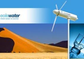 Agua del viento Turbina