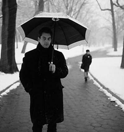 Paraguas Nieve