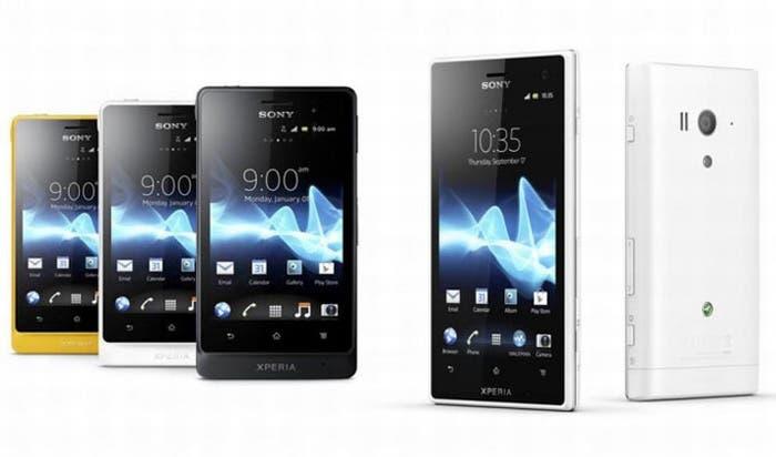 Familia Sony Xperia