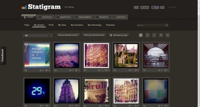 Imagen Statigram De Instagram
