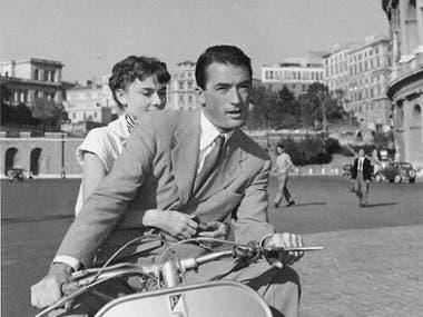 Escena Vacaciones en Roma