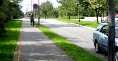 Imagen de un tramo de la autopista