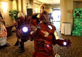 Disfraz de Iron Man creado por un fan