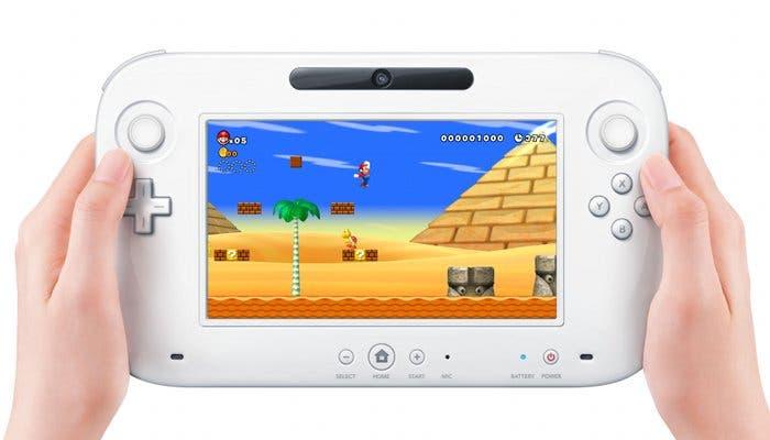 Fotografía del mando de la Wii U