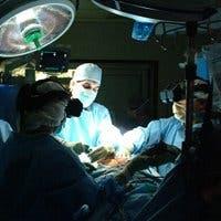 Fotografía de una operación quirúrgica