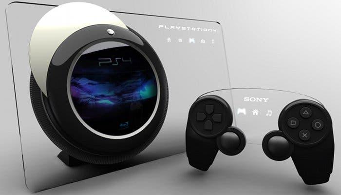 Imagen conceptual de la hipotética PlayStation 4
