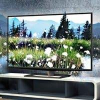 Recreación artística de una televisión Toshiba 55ZL2