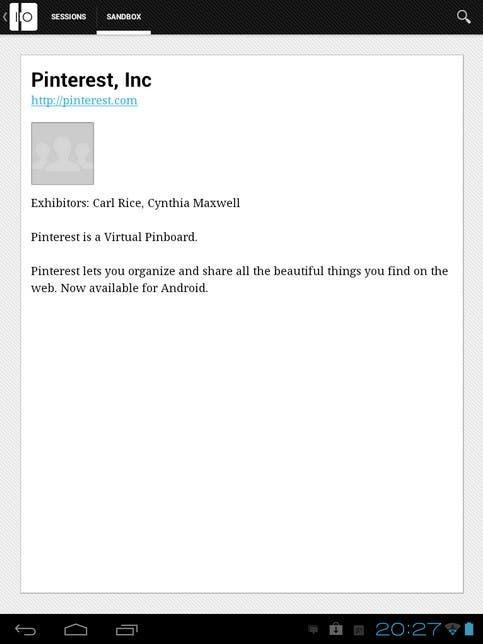 Posible Captura De Pantalla Del Anuncio De La Aplicación de Pinterest Para Android