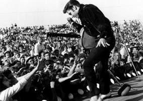 El rey causaba furor entre el público