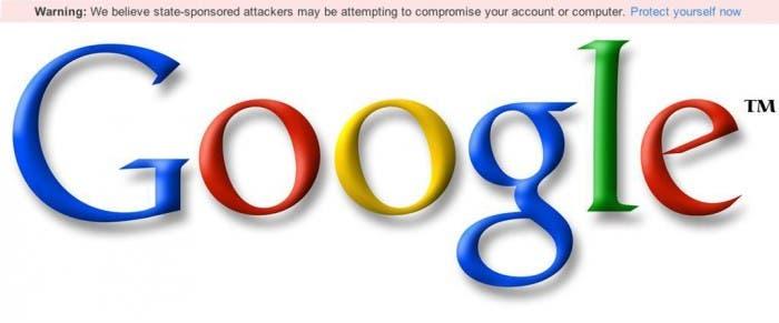 Mensaje De Alerta De Google Por Ciberataques De Gobiernos