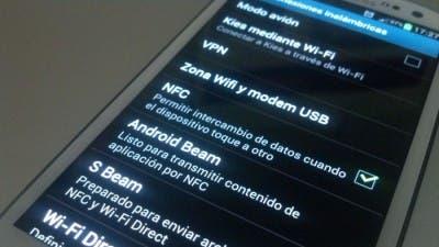 Uso de redes en el Galaxy S3