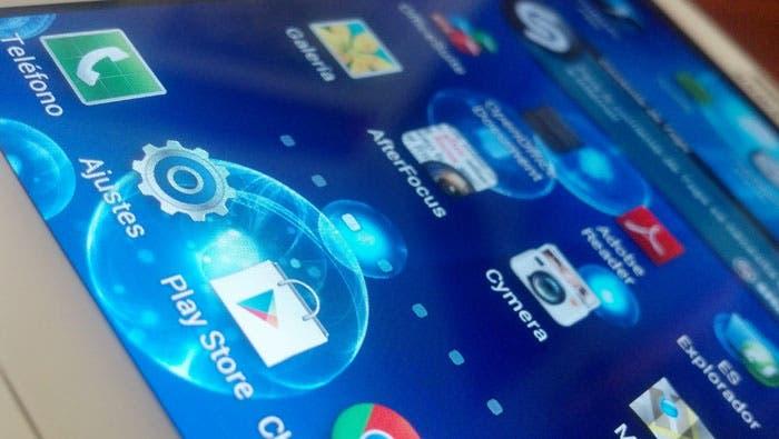 Galaxy S III y su pantalla vista de cerca