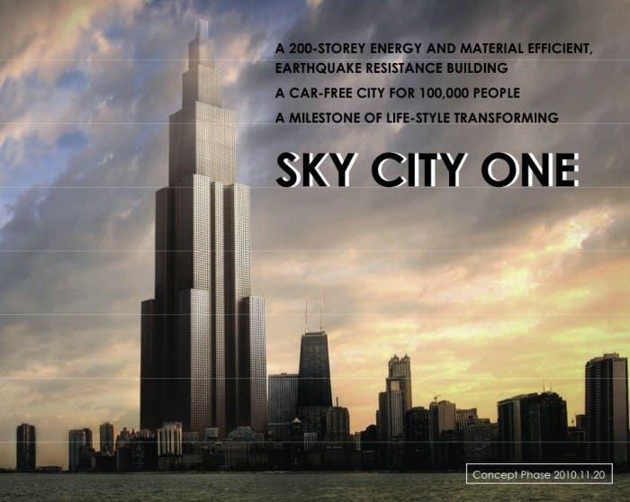 El rascacielos más alto del mundo