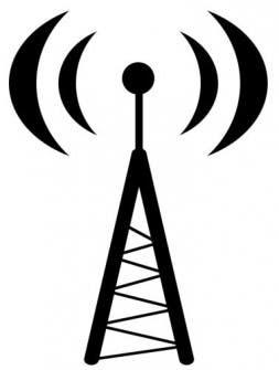 antena emitiendo