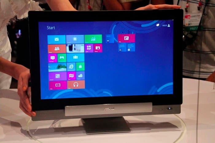 Así se ve el dispositivo en su modalidad de ordenador