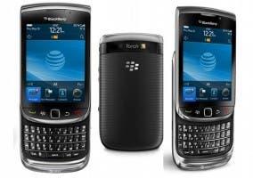 Imágenes de una Blackberry 980 Torch