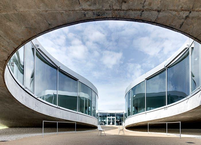 Imagen del campus de la Escuela Politécnica Federal de Lausana