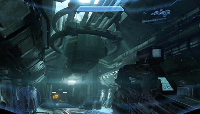 Captura de pantalla del videojuego Halo 4 de Xbox 360