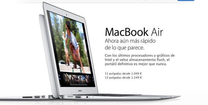 La versión más fina de Mac se actualiza