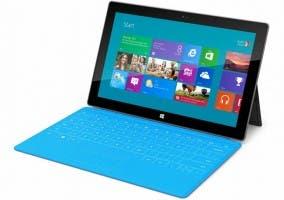 Fotografía de la nueva tablet Microsoft Surface