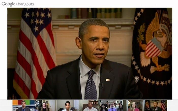 Barack Obama Google+