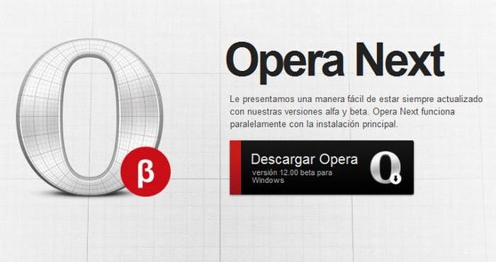 Opera navegador web