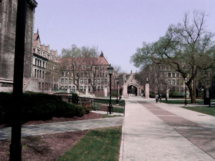 Típica perspectiva de las universidades americanas