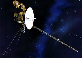 Recreación De La Sonda Espacial Voyager