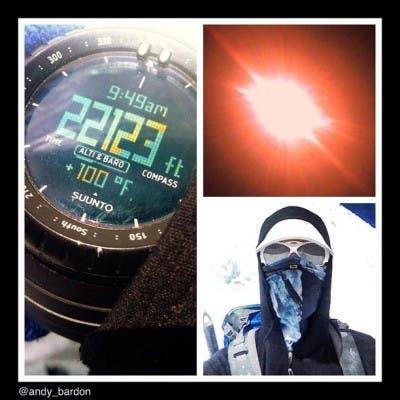 Collage Miembro Expedición NatGeo Everest
