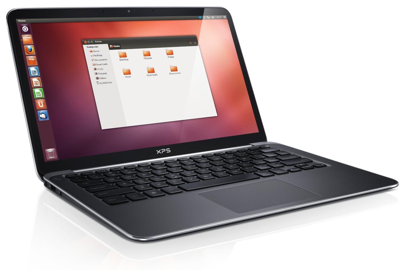 Imagen de Ubuntu 12.04 LTS en un ultraportátil Dell