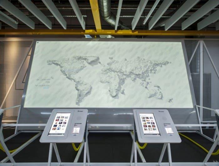 Uno de los experimentos de Web Lab en el Museo de Ciencias de Londres