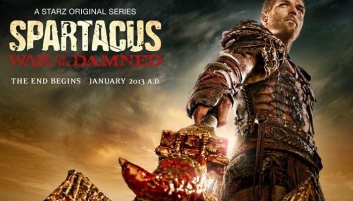Primer póster oficial de Spartacus