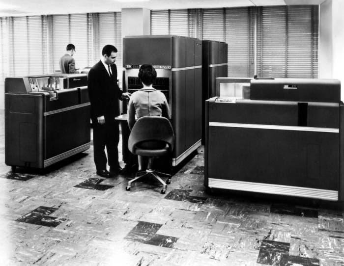 Sala De Computación En IBM