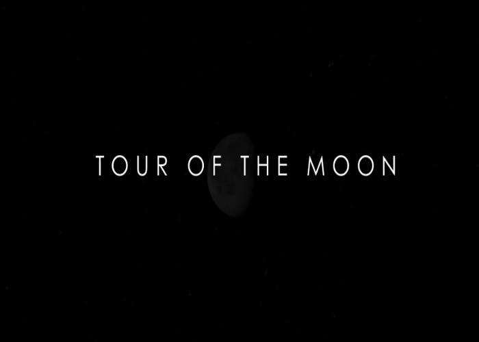 Video titulado Tour of the Moon realizado por la NASA