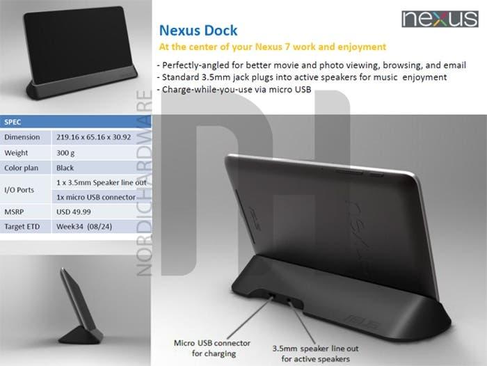 Dock Nexus 7
