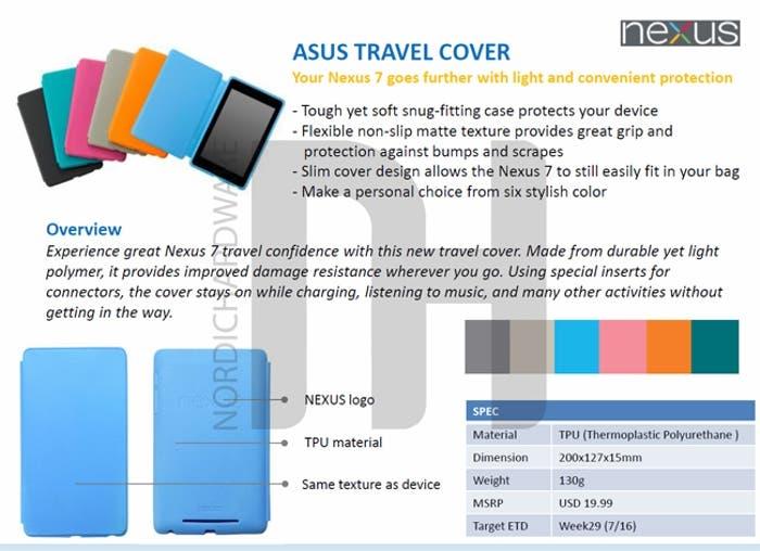 Funda Travel Nexus 7
