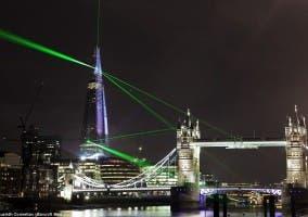 Inaugruación De The Shard Junto A Támesis Y Puente De Londres