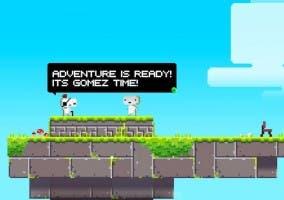 Captura de pantalla del videojuego Fez