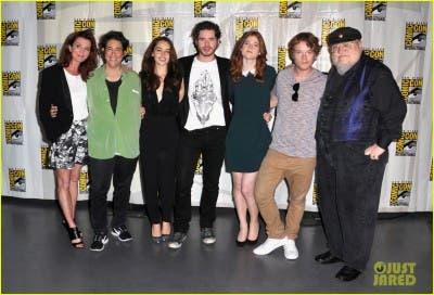 Panel Juego de Tronos en Comic-Con 2012