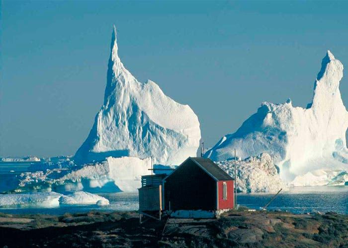 Los paisajes de Groenlandia