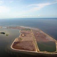 Isla Poplar, la isla reconstruida por el Ejército de los Estados Unidos