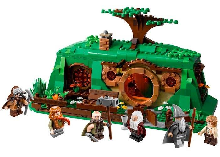 Set de LEGO el El Hobbit basado en Bolsón Cerrado