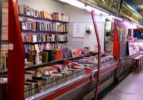 Fotografía de La Casquería, donde se vende libros al peso