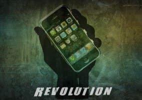 Representación de la evolución de los smartphones